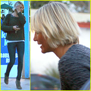 Cameron Diaz Debuts Cropped Haircut