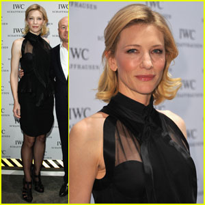 Cate Blanchett: IWC Top Gun Gala in Geneva!