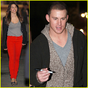 Channing Tatum: 'Jimmy Kimmel Live!' Visit