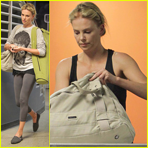 Charlize Theron: Crunch Time!