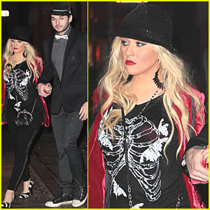 Christina Aguilera & Matt Rutler: New Year's Eve!