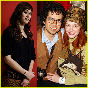 Lizzy Caplan: Sundance with Christina Hendricks &#038; Geoffrey Arend!