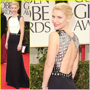 Claire Danes - Golden Globes 2012 Red Carpet