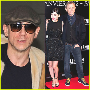 Daniel Craig: Paris Premiere of 'Dragon Tattoo'