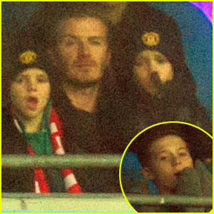 David Beckham: Manchester United Game with the Boys
