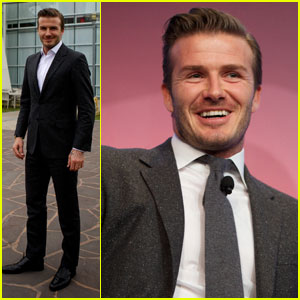 David Beckham: Google Headquarters Visit!