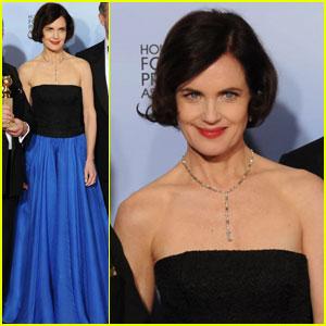 Elizabeth McGovern - Golden Globes 2012 Red Carpet