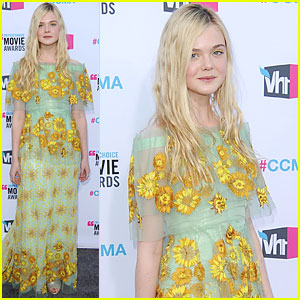 Elle Fanning - Critics' Choice Awards 2012