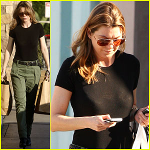 Ellen Pompeo: 'Grey's' Season Finale Is All Mapped Out!