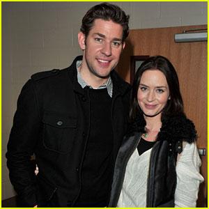 John Krasinski & Emily Blunt: 'Nobody Walks' Sundance Premiere!