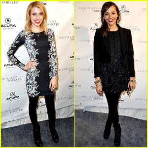 Emma Roberts & Rashida Jones: 'Celeste and Jesse' at Sundance!