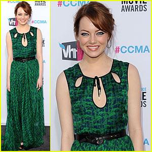 Emma Stone - Critics' Choice Awards 2012