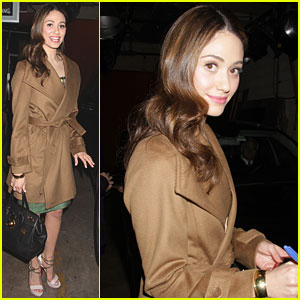 Emmy Rossum: 'Live with Kelly' Appearance!