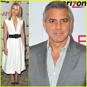 George Clooney & Claire Danes: AFI Awards 2012 Red Carpet