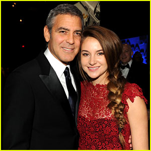 George Clooney: DGA Awards with Shailene Woodley!