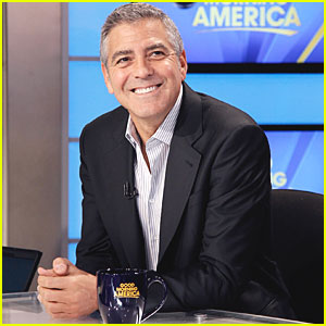 George Clooney: Good Morning, America!