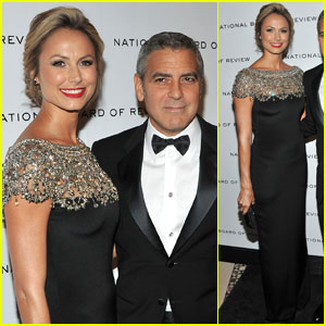 George Clooney & Stacy Keibler: National Board of Review Gala!