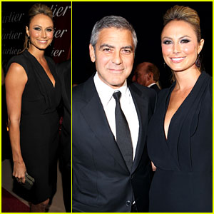 George Clooney: Palm Springs Film Festival with Stacy Keibler!