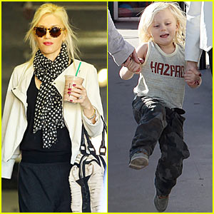 Gwen Stefani: Learning Store with Adorable Zuma!