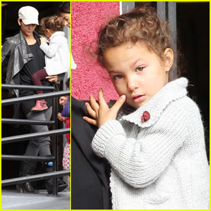 Halle Berry &#038; Nahla: Family Brunch With Olivier Martinez