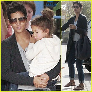 Halle Berry & Nahla: New Year's Eve Party!