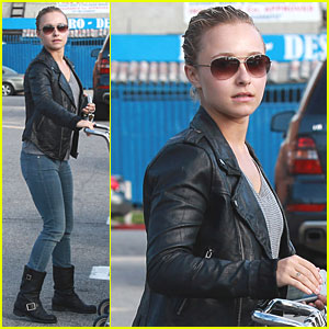 Hayden Panettiere: Whole Foods Shopper