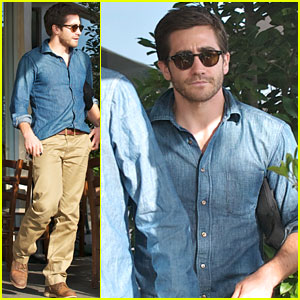 Jake Gyllenhaal: Los Angeles Lunch