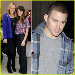 Channing Tatum & Jenna Dewan: LAX Lovebirds