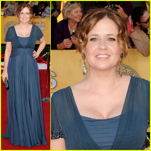 Jenna Fischer - SAG Awards 2012 Red Carpet
