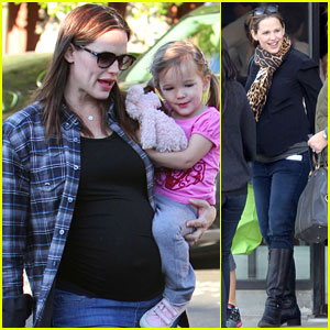 Jennifer Garner & Seraphina: Birthday Breakfast!