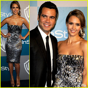 Jessica Alba: Golden Globe After Party Perfect!