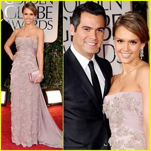 Jessica Alba - Golden Globes 2012 Red Carpet