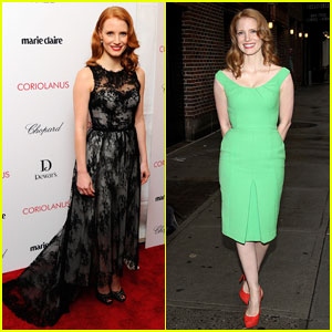 Jessica Chastain: 'Coriolanus' NYC Premiere &#038; 'Letterman'!
