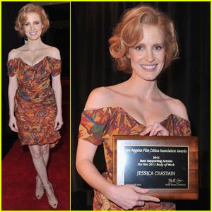 Jessica Chastain: LA Film Critics Association Awards Winner!