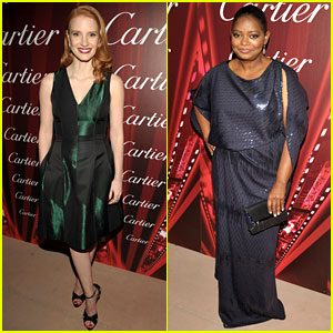 Jessica Chastain & Octavia Spencer: 'The Help' at Palm Springs