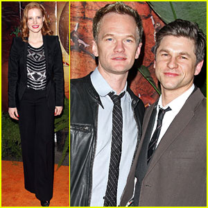 Jessica Chastain: 'OVO' Opening Night!