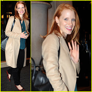 Jessica Chastain: 'I Always Think I'm Going To Get Fired'
