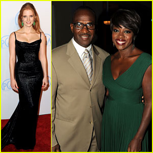 Jessica Chastain & Viola Davis: Producers Guild Awards!