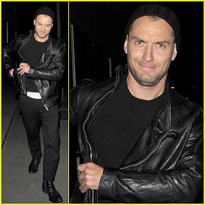 Jude Law: Late Night Soho Stroll