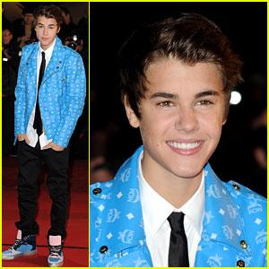Justin Bieber: Darker 'Do at NRJ Awards!