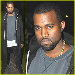 Kanye West: Givenchy Show in Paris!