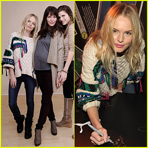 Kate Bosworth: Puma Ping Pong Table for Charity!