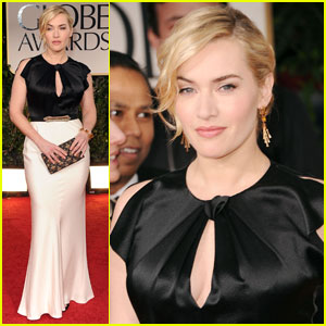 Kate Winslet - Golden Globes 2012 Red Carpet