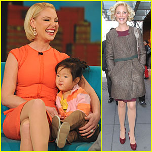 Katherine Heigl: 'The View' with Naleigh!