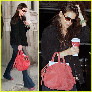 Katie Holmes: Jewelry Ads This Fall!