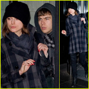 Keira Knightley & James Righton: Manhattan Mates