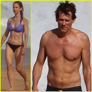 Kevin Bacon &#038; Kyra Sedgwick: Hawaiian Family Vacation!