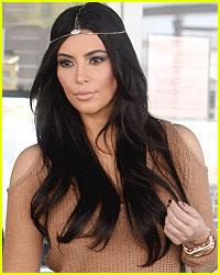 Kim Kardashian Calls Police Over Stranger