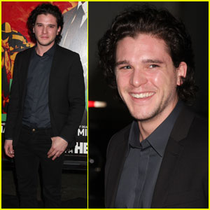 Kit Harington: 'Luck' Premiere in Hollywood!