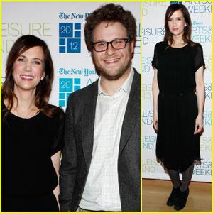 Kristen Wiig & Seth Rogen: NY Times TimesTalk!